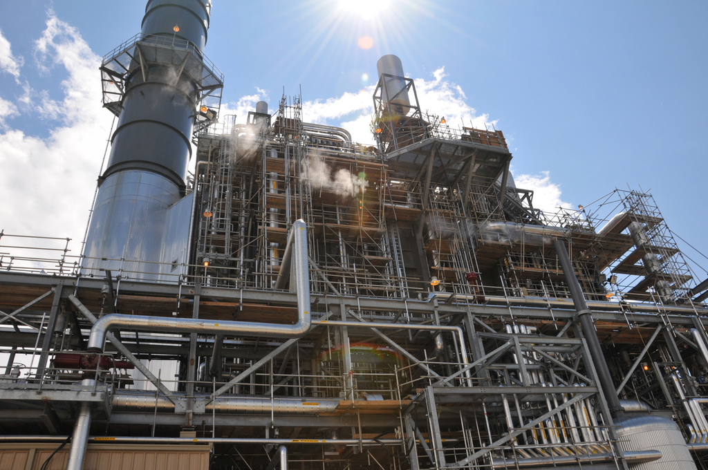 Fossil-fuel Power Station - Natural Gas Power Plants