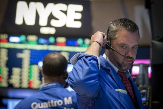 Wall St. little changed as investors await Fed statement
